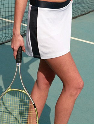 CK1204 LADIES TENNIS SKIRT