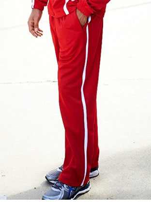 CK1458 UNISEX ELITE CONTRAST SPORTS TRACK PANTS