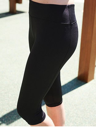 CK1485 LADIES HIGH WAISTED 3/4 LENGTH GYM TIGHTS