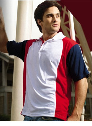CP0670 BREEZEWAY THREE TONE POLO