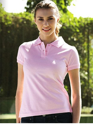 CP0756 PIQUE KNIT FITTED COTTON/SPANDEX POLO