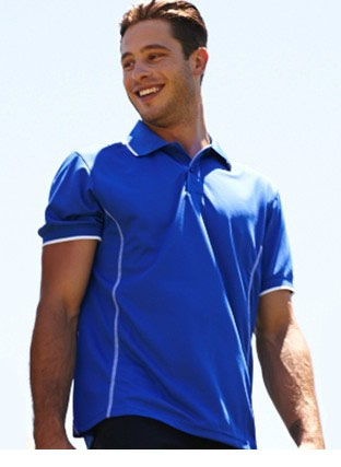CP0910 STITCH FEATURE ESSENTIALS-MEN\'S SHORT SLEEVE POLO