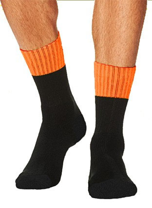 SC1438 UNISEX ADULTS HI VIS SOCKS