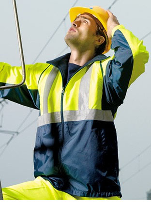 SJ0642 HI-VIS 3 IN 1 JACKET WITH REFLECTIVE TAPE