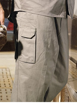 WK616 COTTON DRILL CARGO PANTS